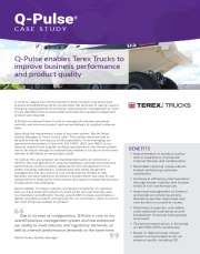 Q-Pulse - Case Study - Terex Trucks