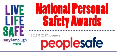 Shortlist for National Personal Safety Awards Announced