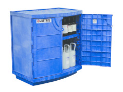 Polyethylene safety Cabinet for Corrosives - Store Harsh Chemicals with Confidence