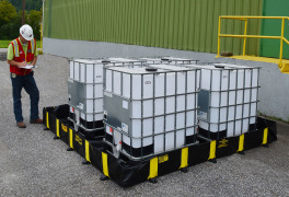 Justrite New, Versatile Flexible Containment Berm Helps Comply with EPA and SPCC