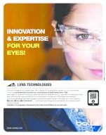 Innovation & expertise for your eyes - Lens Technologies by Bollé Safety