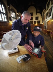 Top marks for PAT tester at famous Oxford college