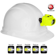 New Intrinsically Safe XPP-5454GC LED Headlamp from Nightstick® Now Clips Direct to Hard Hats