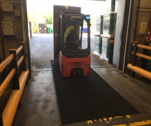 Prevent Forklifts from causing slips in your warehouse