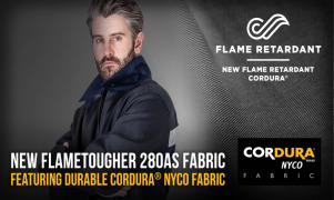 A new fabric more than tough enough for flame retardant workwear