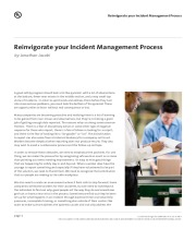 Reinvigorate your Incident Management Process