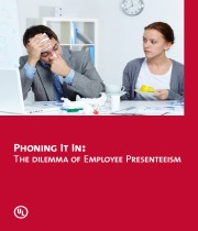 Phoning It In: The dIlemma of EmPloyee PresenteeIsm