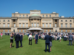 Thousands gather at Buckingham Palace to celebrate at RoSPA Garden Party