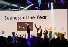 AnyJunk Wins Overall 'Business of the Year' at British Chambers of Commerce Awards 2017