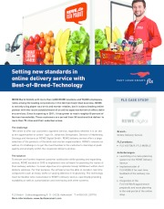 Setting new standards in online delivery service with Best-of-Breed-Technology