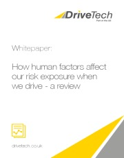Whitepaper - How human factors affect our risk exposure when we drive