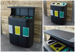 Our triple recycling bins are Tate Britain's newest exhibition