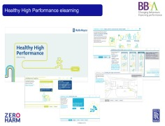 Healthy High Performance elearning at Rolls-Royce