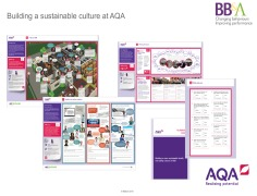 Building a sustainable safety culture at AQA