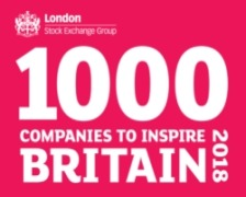 Our Parent Company Listed in 1000 Companies to Inspire Britain Report