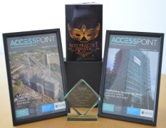 The Scaffolding Association's Quarterly Magazine 'AccessPoint' Wins Magazine of the Year!