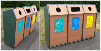 Wybone recycling bins delivered all the way to Seychelles!