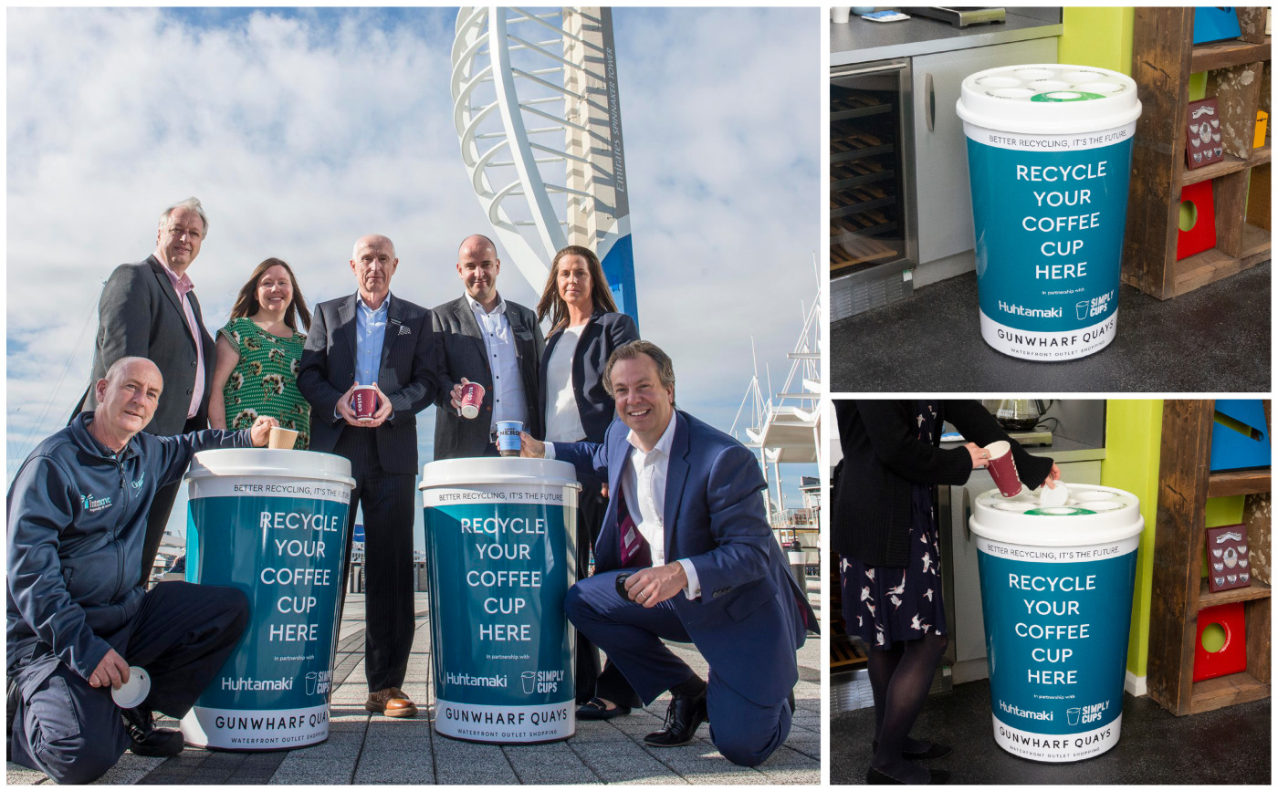 Were Working With Simply Cups To Support Gunwharf Quays