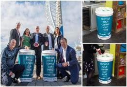 We're working with Simply Cups to support Gunwharf Quays' cup recycling scheme