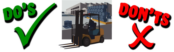How dangerous are forklifts and other vehicles? - how our systems can help.