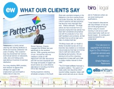 Case Study: Pattersons