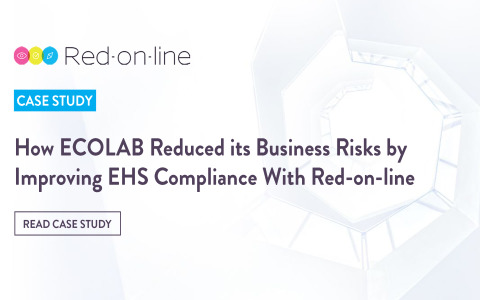 ECOLAB Reduces Business Risks by Improving Legal Compliance