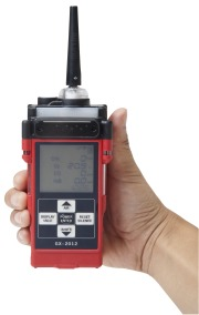 Riken Keiki GX-2012 Confined space gas monitor with pump