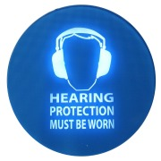 Pulsar SafeEar noise-activated warning sign