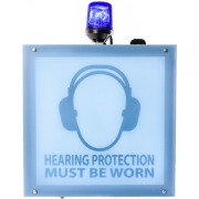 SafeEar Max - XXL noise danger sign
