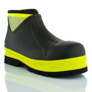 Brightboot Ankle Waterproof Safety Boots Yellow / Black