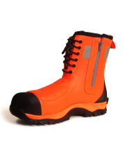 *NEW Brightboot Crew Orange / Black