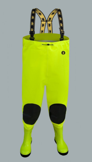 WATERPROOF CHEST WADERS MAX S5 FLUO SBM01 fluo