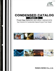 Riken Keiki Condensed Catalogue for Fixed Gas Detectors