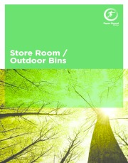 Storeroom and outdoor bin brochure