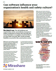 Can software influence your organisation's health and safety culture?